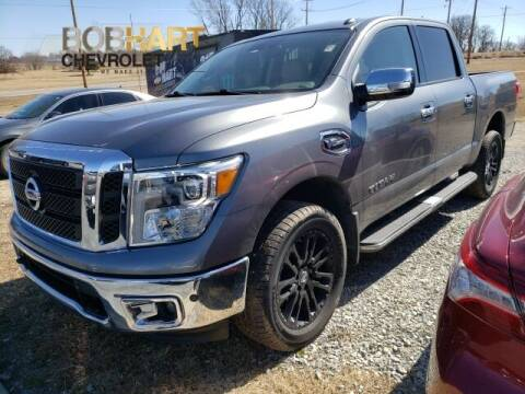 2017 Nissan Titan for sale at BOB HART CHEVROLET in Vinita OK