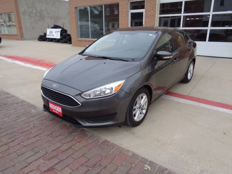 2016 Ford Focus for sale at Rediger Automotive in Milford NE