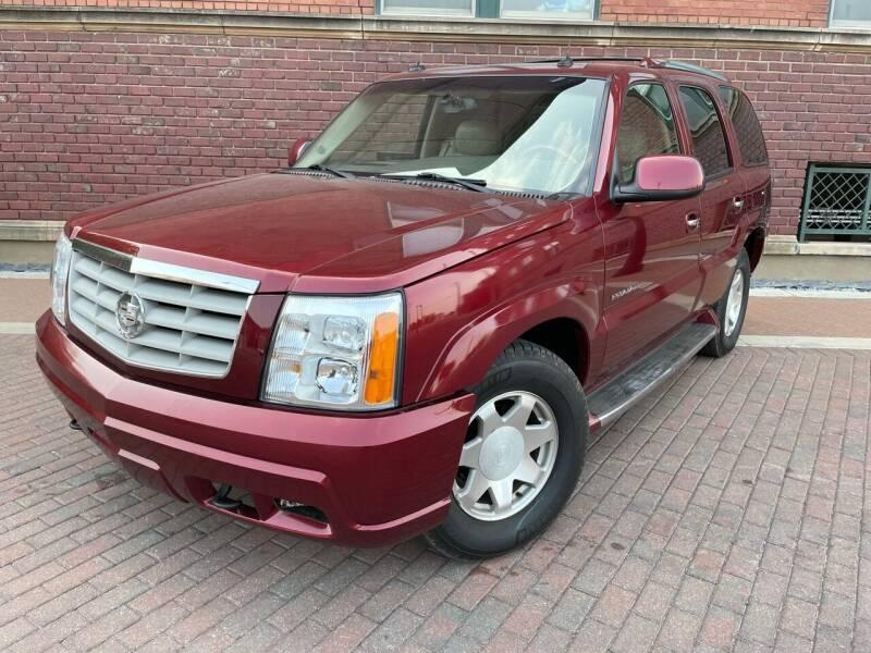 2003 Cadillac Escalade for sale at Euroasian Auto Inc in Wichita KS