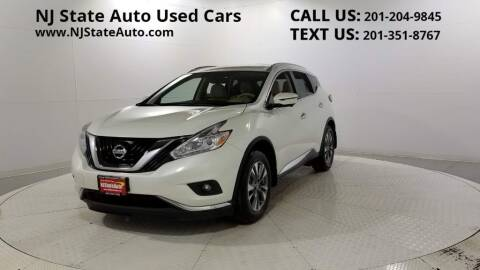 2017 Nissan Murano for sale at NJ State Auto Auction in Jersey City NJ