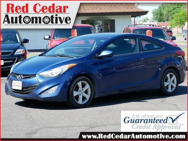 2013 Hyundai Elantra Coupe for sale at Red Cedar Automotive in Menomonie WI