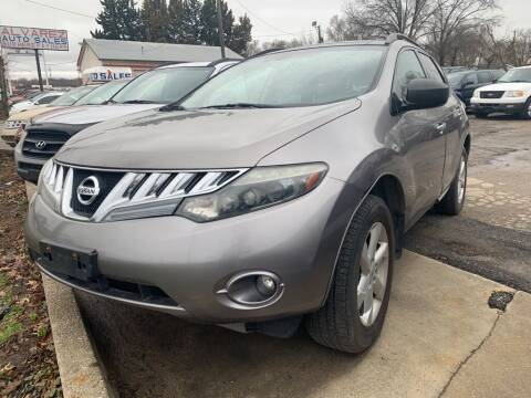 2009 Nissan Murano for sale at ALVAREZ AUTO SALES in Des Moines IA