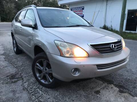 2007 Lexus RX 400h for sale at Popular Imports Auto Sales in Gainesville FL