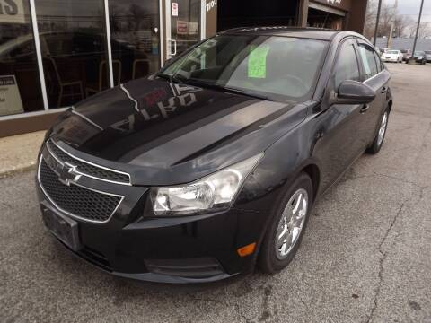 2013 Chevrolet Cruze for sale at Arko Auto Sales in Eastlake OH