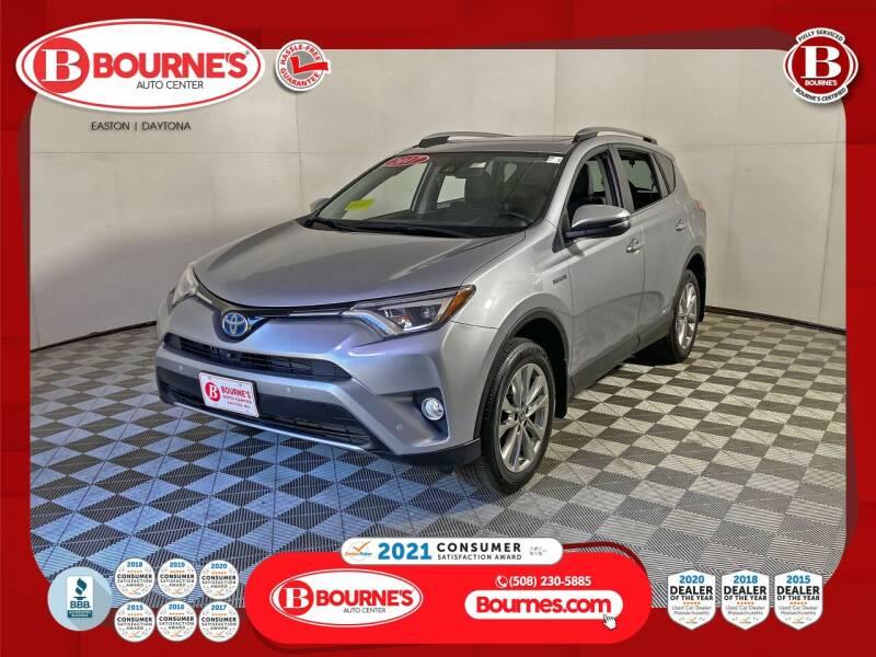 2017 Toyota RAV4 Hybrid for sale in South Easton, MA