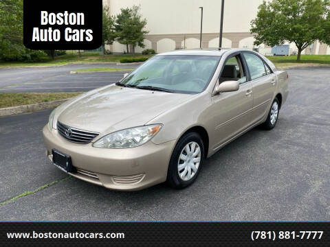 2006 Toyota Camry for sale at Boston Auto Cars in Dedham MA