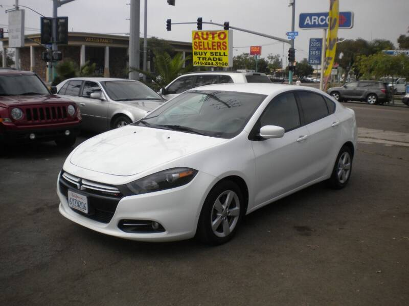 2015 Dodge Dart for sale at AUTO SELLERS INC in San Diego CA