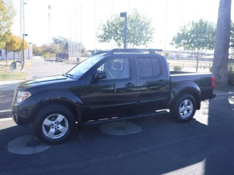 2005 Nissan Frontier for sale at J & E Auto Sales in Phoenix AZ