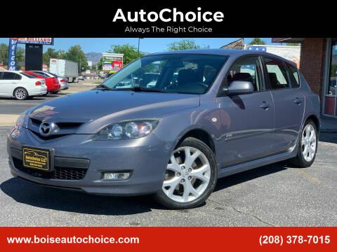 2008 Mazda MAZDA3 for sale at AutoChoice in Boise ID