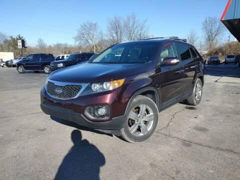 2012 Kia Sorento for sale at Cruisin' Auto Sales in Madison IN