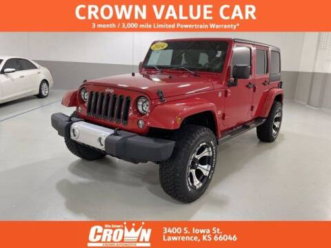 2014 Jeep Wrangler Unlimited for sale at Crown Automotive of Lawrence Kansas in Lawrence KS
