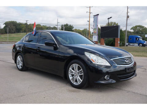2013 Infiniti G37 Sedan for sale at Sand Springs Auto Source in Sand Springs OK