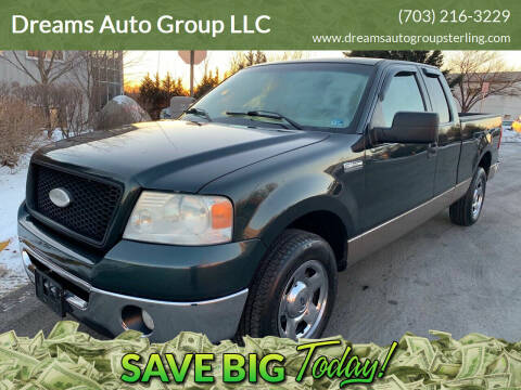 2006 Ford F-150 for sale at Dreams Auto Group LLC in Sterling VA