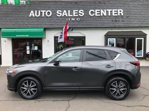2018 Mazda CX-5 for sale at Auto Sales Center Inc in Holyoke MA