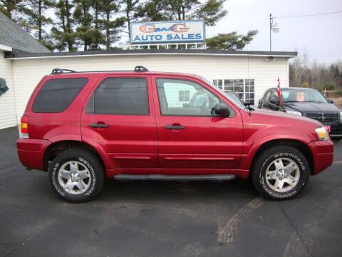 2007 Ford Escape for sale at G and G AUTO SALES in Merrill WI