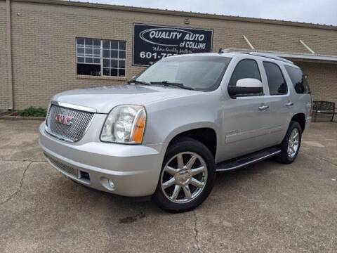 2013 GMC Yukon for sale at Quality Auto of Collins in Collins MS
