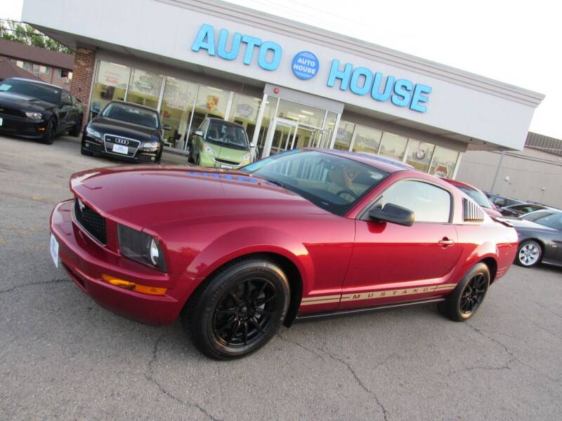 2007 Ford Mustang for sale at Auto House Motors in Downers Grove IL