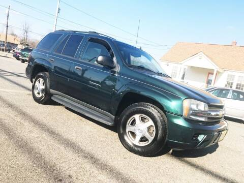 2006 Chevrolet TrailBlazer for sale at New Wave Auto of Vineland in Vineland NJ