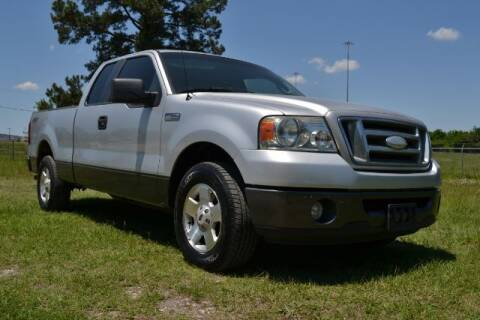 2007 Ford F-150 for sale at WOODLAKE MOTORS in Conroe TX