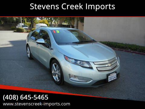 2013 Chevrolet Volt for sale at Stevens Creek Imports in San Jose CA