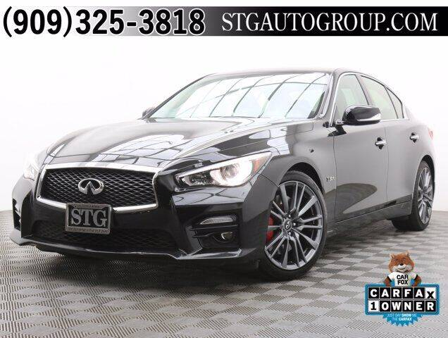2017 Infiniti Q50 for sale at STG Auto Group in Montclair CA
