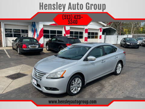 2014 Nissan Sentra for sale at Hensley Auto Group in Middletown OH
