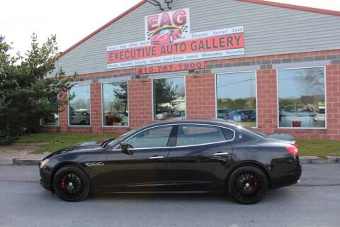 2016 Maserati Quattroporte for sale at EXECUTIVE AUTO GALLERY INC in Walnutport PA