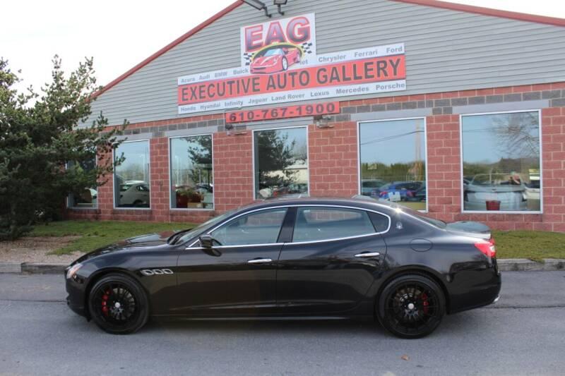 2016 Maserati Quattroporte for sale at EXECUTIVE AUTO GALLERY INC in Walnutport PA