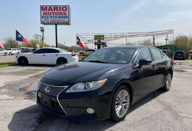 2013 Lexus ES 350 for sale at Mario Motors in South Houston TX