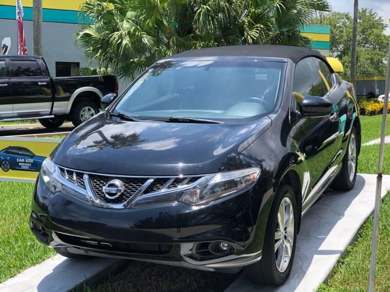 2011 Nissan Murano CrossCabriolet for sale at CAR UZD in Miami FL