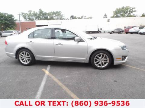 2011 Ford Fusion for sale at Lee Motor Sales Inc. in Hartford CT