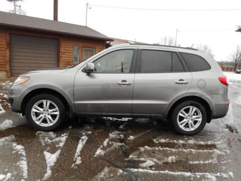 2012 Hyundai Santa Fe for sale at O K Used Cars in Sauk Rapids MN