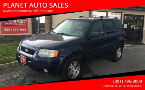 2004 Ford Escape for sale at PLANET AUTO SALES in Lindon UT