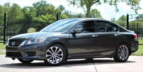 2014 Honda Accord for sale at Texas Auto Corporation in Houston TX