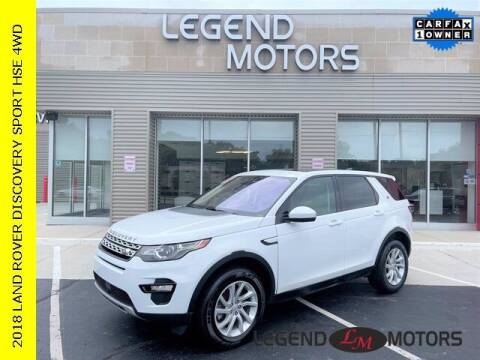 2018 Land Rover Discovery Sport for sale at Legend Motors of Waterford in Waterford MI