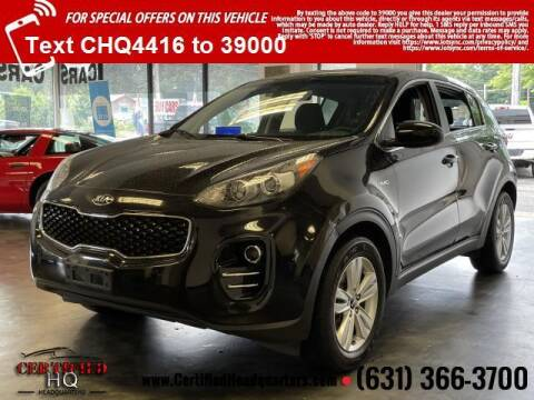 2018 Kia Sportage for sale at CERTIFIED HEADQUARTERS in Saint James NY