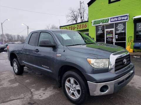 2007 Toyota Tundra for sale at Empire Auto Group in Indianapolis IN