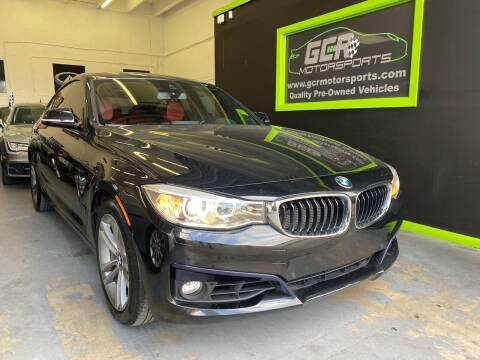 2016 BMW 3 Series for sale at GCR MOTORSPORTS in Hollywood FL