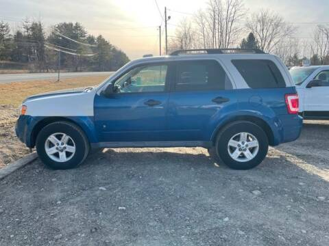 2009 Ford Escape Hybrid for sale at Upstate Auto Sales Inc. in Pittstown NY