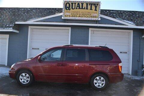 2010 Kia Sedona for sale at Quality Pre-Owned Automotive in Cuba MO
