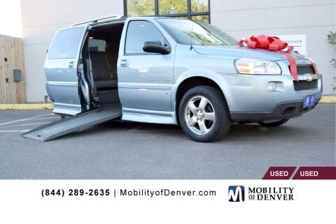 2007 Chevrolet Uplander for sale at CO Fleet & Mobility in Denver CO