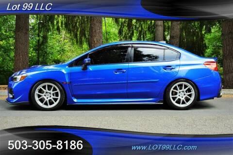 2016 Subaru WRX for sale at LOT 99 LLC in Milwaukie OR