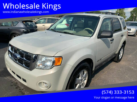 2008 Ford Escape for sale at Wholesale Kings in Elkhart IN