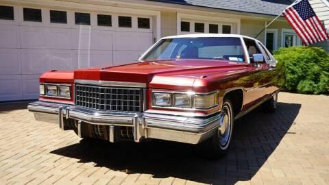 1976 Cadillac DeVille for sale at Fiore Motors, Inc.  dba Fiore Motor Classics in Old Bethpage NY