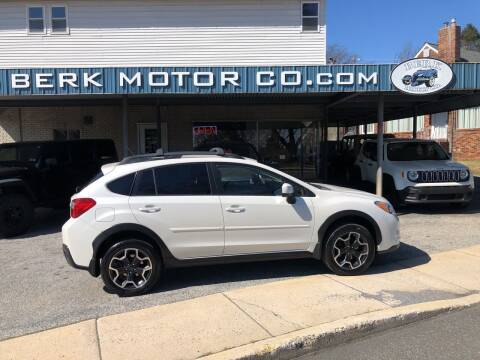 2013 Subaru XV Crosstrek for sale at Berk Motor Co in Whitehall PA