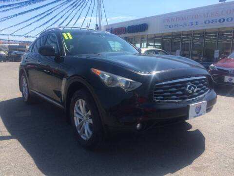 2011 Infiniti FX35 for sale at I-80 Auto Sales in Hazel Crest IL