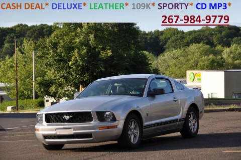 2009 Ford Mustang for sale at T CAR CARE INC in Philadelphia PA