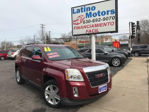 2011 GMC Terrain for sale at Latino Motors in Aurora IL