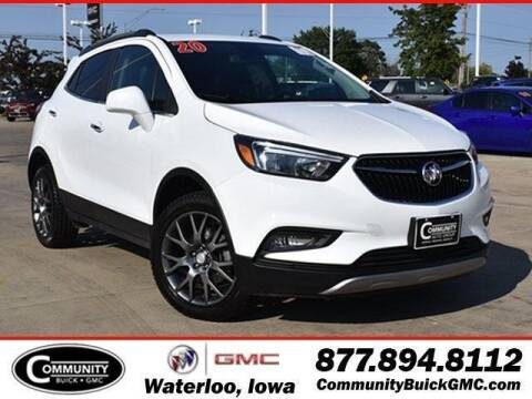 2020 Buick Encore for sale at Community Buick GMC in Waterloo IA