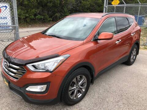 2013 Hyundai Santa Fe Sport for sale at Central Automotive in Kerrville TX